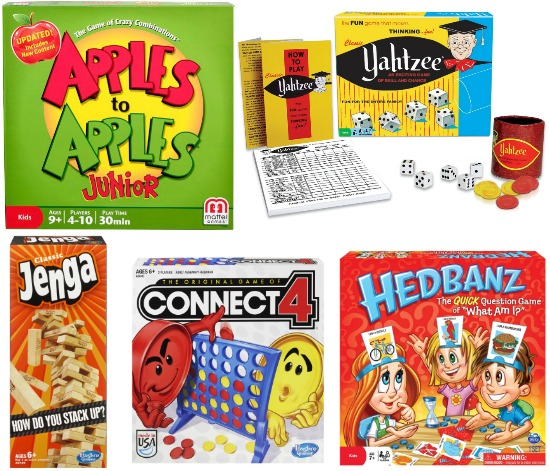 Unboard games for kids