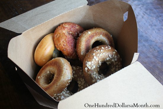 paneras bakers dozen tuesday bagels