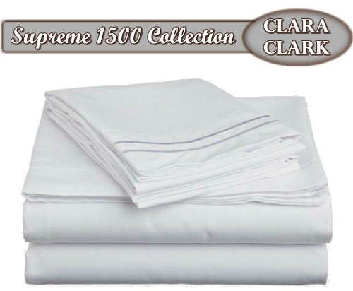Clara Clark  Supreme 1500 Collection Bed Sheet Sets