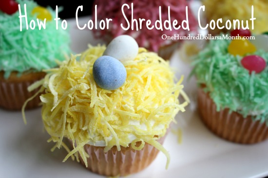 How to Color Shredded Coconut