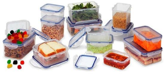 Lock & Lock 28-Piece Food-Storage Container Set
