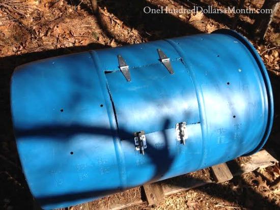 diy compost tumbler instructions