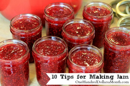 10 Tips for Making Jam