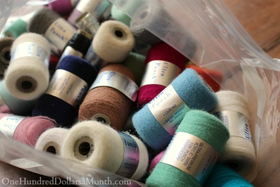 needle punch thread