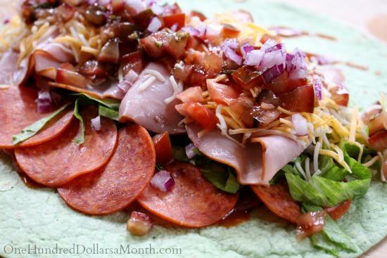 spicy italian wrap recipe