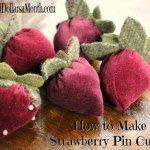 How to Make a Strawberry Pin Cushion