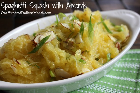 Spaghetti-Squash-with-Almonds