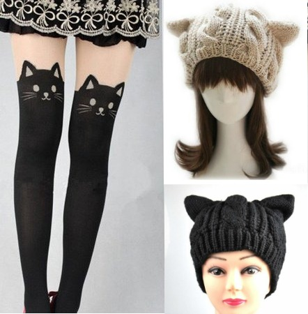 Cat-Kitty-Tights