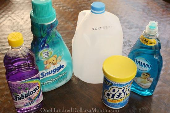 DIY Carpet Cleaner Recipe