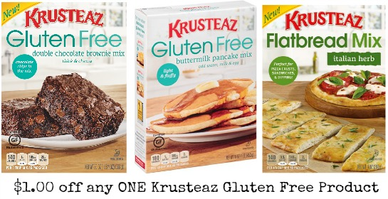 Krusteaz Gluten Free coupons