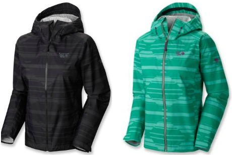 Mountain Hardwear Plasmic Geo Rain Jacket