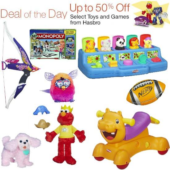 hasbro toy sale