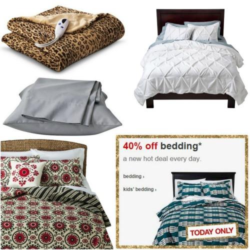 target bedding sales