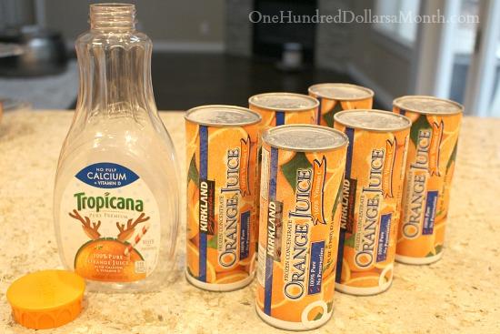 costco kirkland frozen orange juice