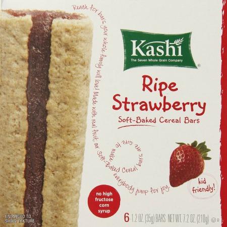 kashi strawberry bars