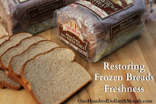 Easy-Kitchen-Tip-Restoring-Frozen-Breads-Freshness