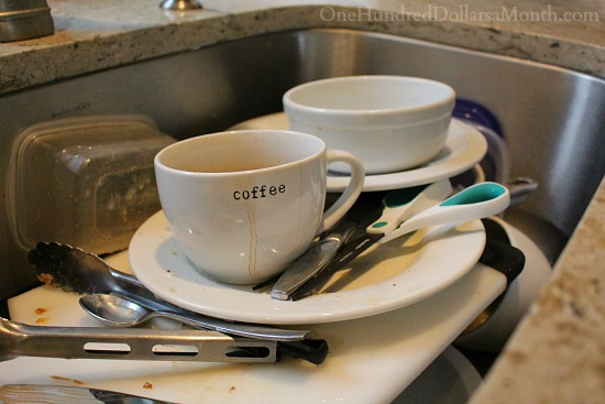 Washing Dishes vs. Using the Dishwasher
