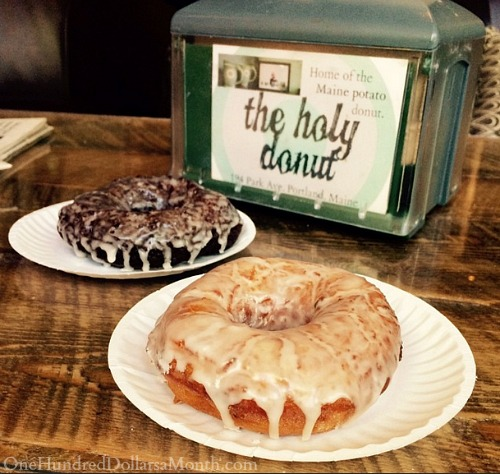 the holy donut maine
