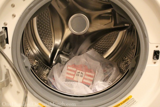 washing logos