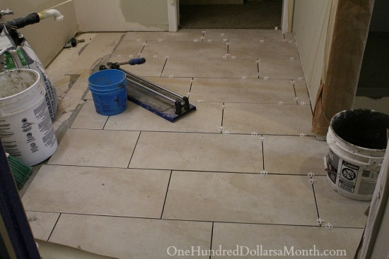 12 24 tile master bathroom