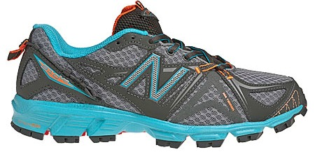 new balance running shoe grey and blue