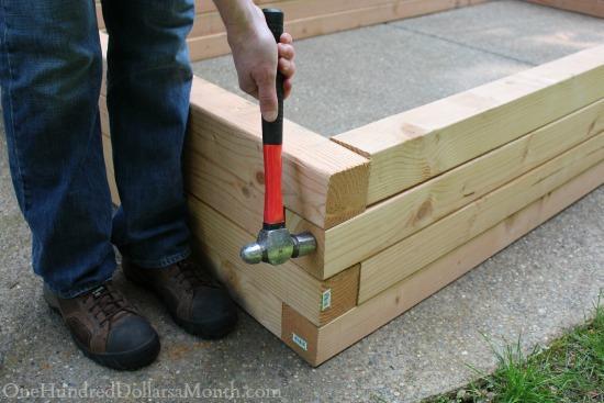 building garden boxes