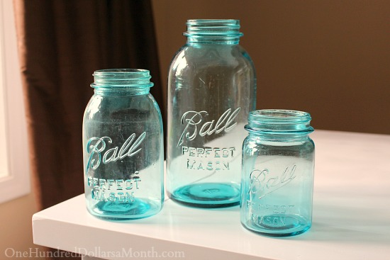 blue ball vintage canning jars