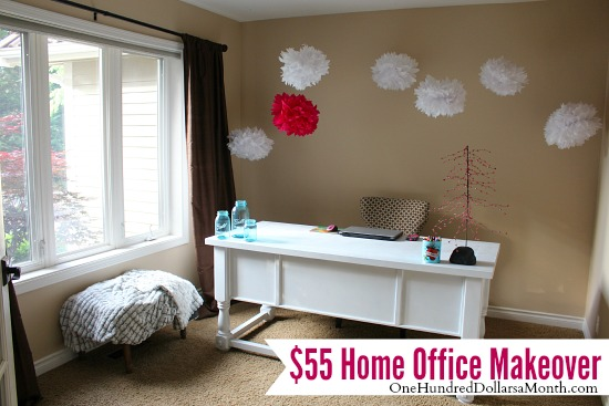 cheap Home office makeover