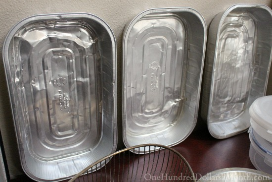 foil pans