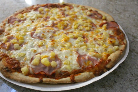 papa murphys Hawaiian pizza