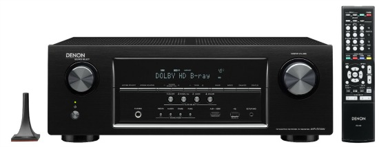 Denon AVR-S700 7.2-Channel AV Receiver