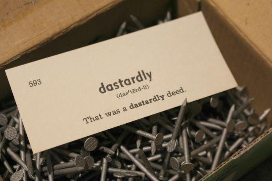 dastardly
