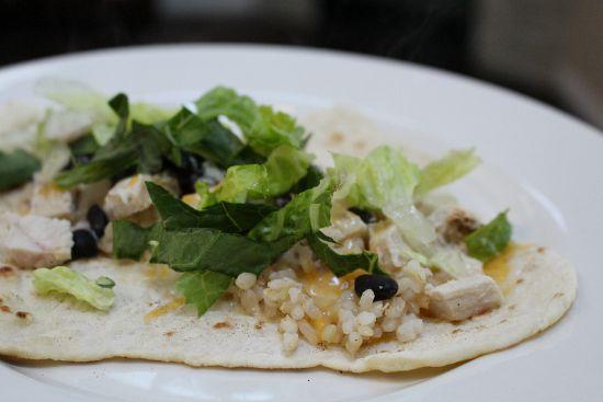 homemade soft tacos