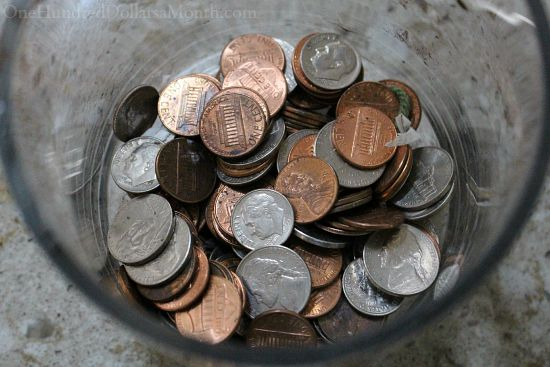 money coins loose change