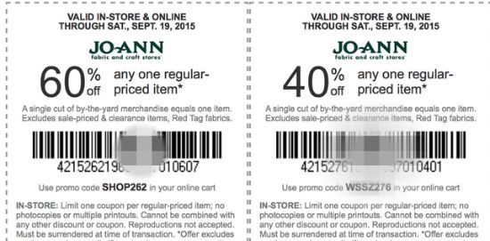 joann coupon