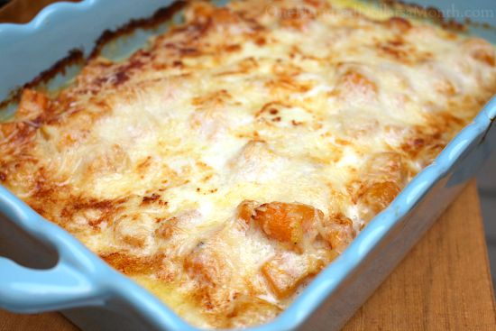 roasted butternut lasagna