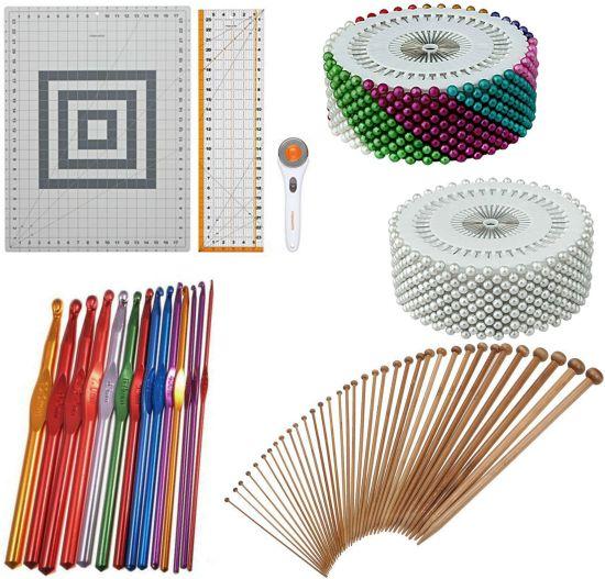 wooden knitting needles