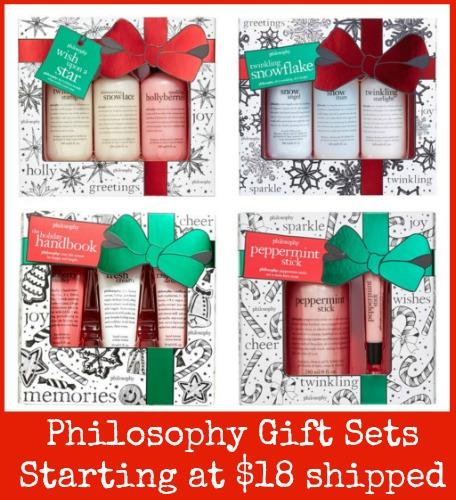 philosophy gift sets