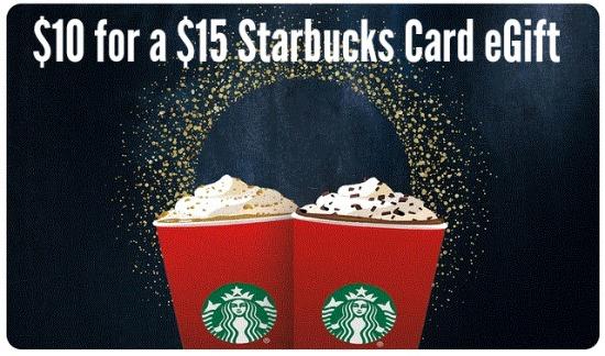 starbucks gift card deal