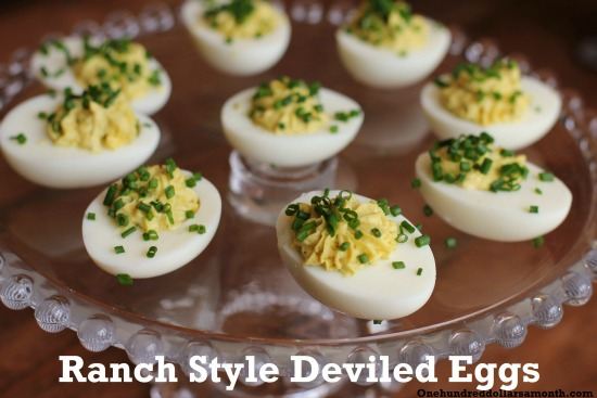 ranch style deviled eggs