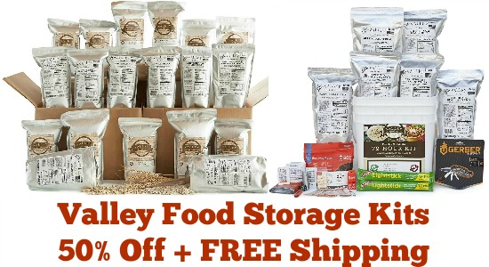 valley food storage kits