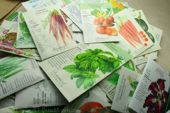 botanical interests seed order