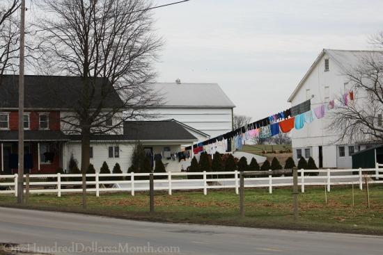 clothesline laundry
