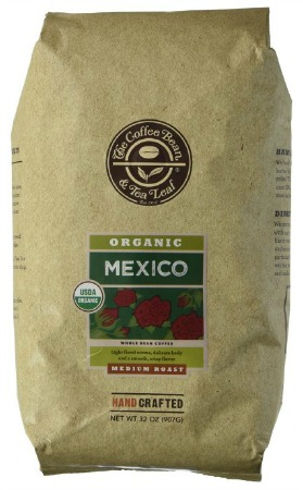 The Coffee Bean  Tea Leaf Mexico Organic Whole Bean Coffee