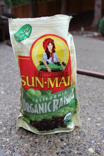 sun maid raisins bag