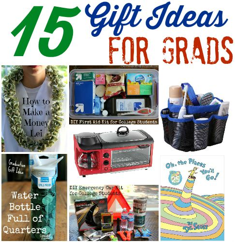 15 Gift Ideas for Grads