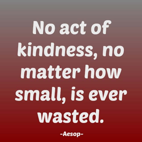 quotes - no act of kindness