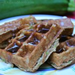 Zucchini Oatmeal Waffles – The Best Waffle on the Planet