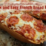 Quick and Easy French Bread Pizza