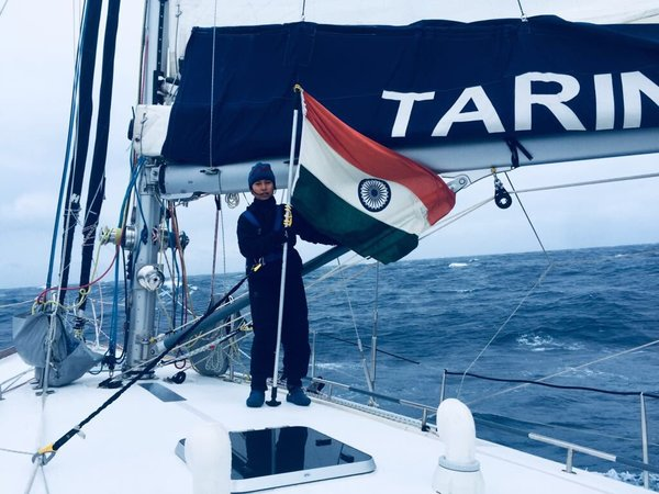 First-Ever Indian Circumnavigation of the Globe by Proud Women Naval Officers-Navika Sagar Parikrama